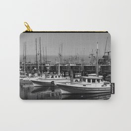 Boats At Fishermans Wharf San Francisco Carry-All Pouch