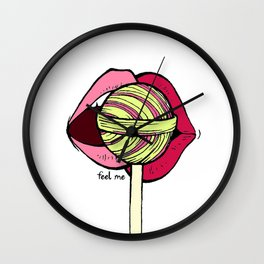 Lollipop[2] Wall Clock