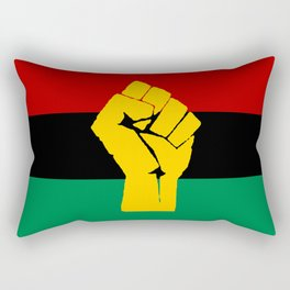 Pan African Flag Rectangular Pillow