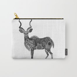 Henna-Inspired Kudu  Carry-All Pouch