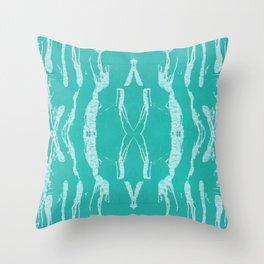 Seafoam  Foam Wash Throw Pillow