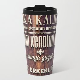Ayrilik Metal Travel Mug