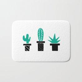 Cactus Friends Bath Mat