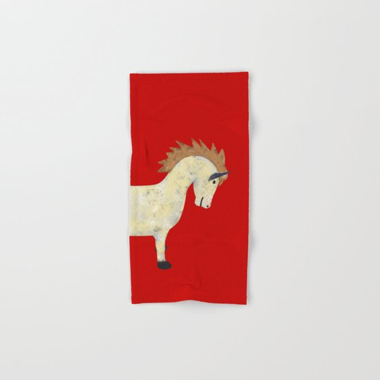 Vintage Pony Design Hand & Bath Towel