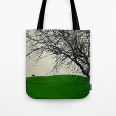 The Black Cow Tote Bag
