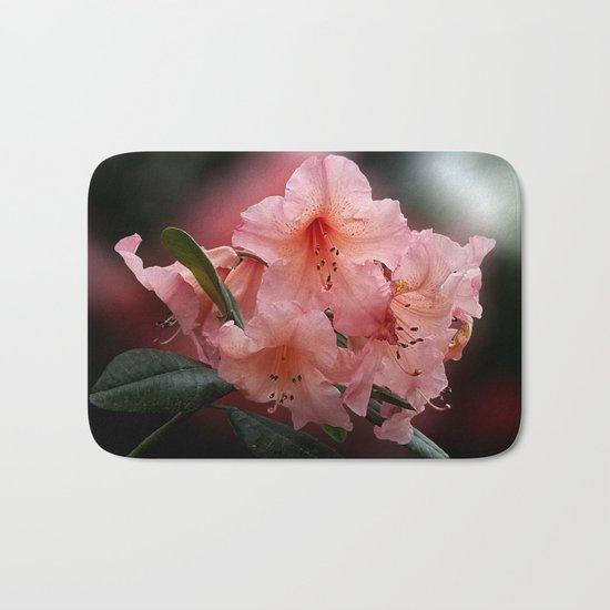 Tortoiseshell Wonder Rhododendron Bath Mat