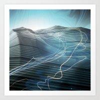 journey Art Prints featuring Journey by Jason Linn