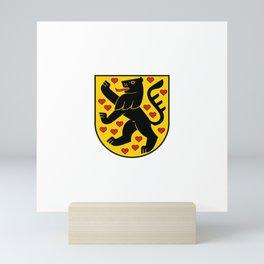flag of weimar Mini Art Print