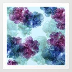 Mixed berries  Art Print