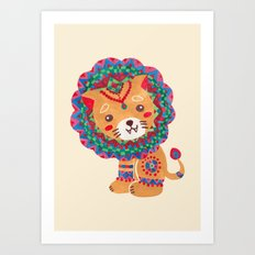 The Little King of the Jungle Art Print