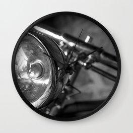 Classic Bike 2 Wall Clock