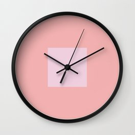 Reshape Art Print Wall Clock