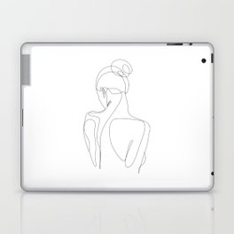 dissol - one line art Laptop & iPad Skin