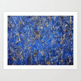 Blue For You Art Print
