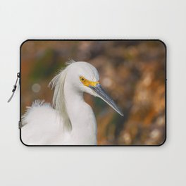 Snowy Egret Laptop Sleeve