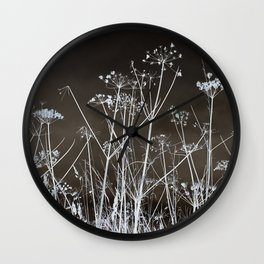 Midnight Field Wall Clock