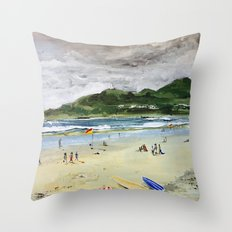 Byron by Syron Throw Pillow