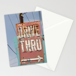 Drive Thru Stationery Cards