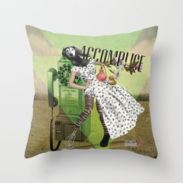 Unshackled, Accomplice by Lendi Hader Throw Pillow
