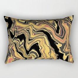 SCREAM - violent abstraction Rectangular Pillow