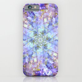 Icy Violet iPhone Case
