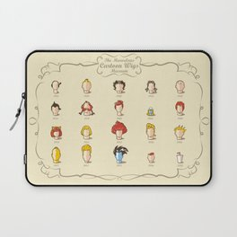 The Marvelous Cartoon Wigs Museum Laptop Sleeve