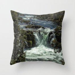 Steelhead Falls Vertical Throw Pillow