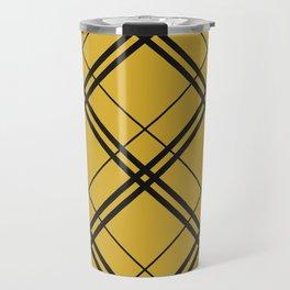 Hufflepuff Argyle Travel Mug