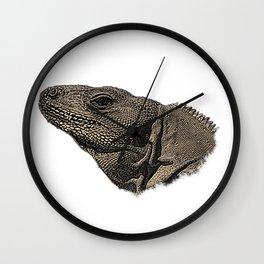 Komodo monitor lizard, reptile, lizard Wall Clock