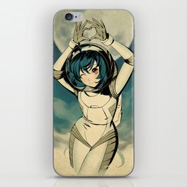 The Misadventures of Space Girl iPhone Skin