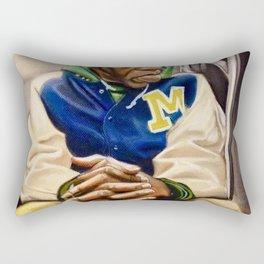 """""""Train Man"""" Rectangular Pillow"""