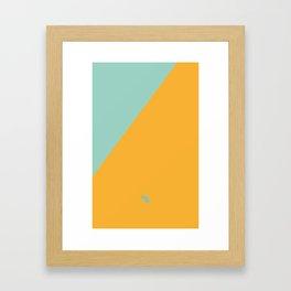 Architecture Summer Framed Art Print