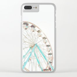 Ferris Wheel Abstract Clear iPhone Case