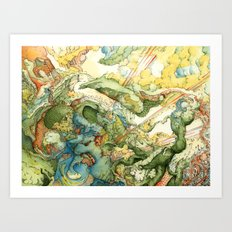 indau Art Print
