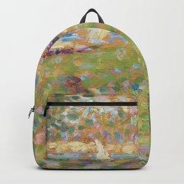 Georges Seurat - Study for La Grande Jatte Backpack