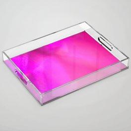 Pinkness Acrylic Tray