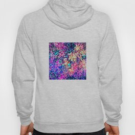 Alphabet Pastel Abstract Pattern Design Hoody
