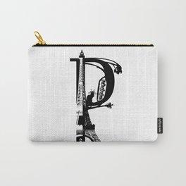 Paris Noir Carry-All Pouch
