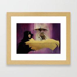 Tá de chuva Framed Art Print