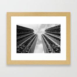 Shek Kip Mei, Kowloon, Hong Kong Framed Art Print