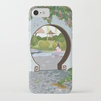 mulan iPhone & iPod Cases featuring Mulan by Lesley Vamos