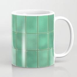 Cyan Tiles Coffee Mug