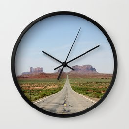 Monument Valley Horizontal Wall Clock
