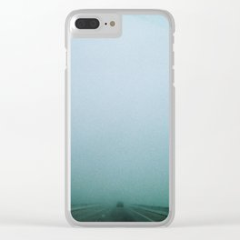 into the great wide open Clear iPhone Case