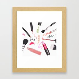 Cosmetic Framed Art Print
