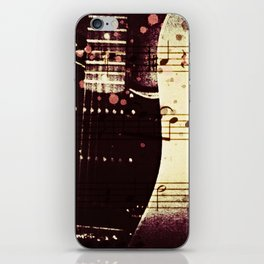 THE LINE UP iPhone Skin