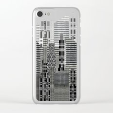 Plaid City Clear iPhone Case