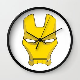Iron Man Helmet  Wall Clock