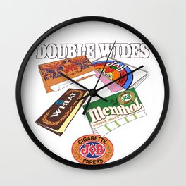 JOB 4 rolling papers Wall Clock