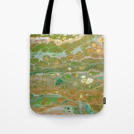 Forest in spring Tote Bag